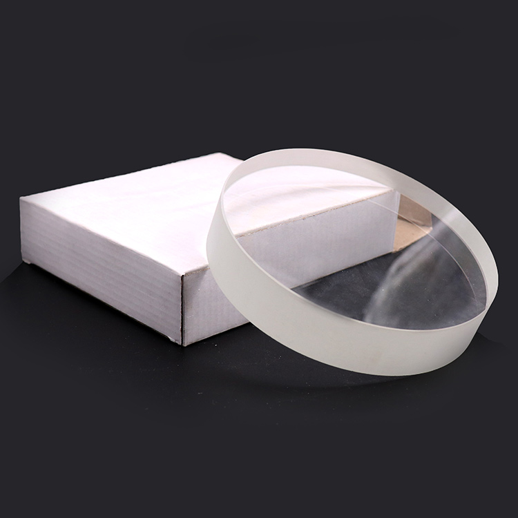 2019 Toughened Borosilicate Viewing clear round  sight Glass