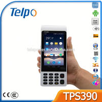 Telpo TPS390 Handheld Voting Handheld E-ticketing Android POS Terminal with Card Reader