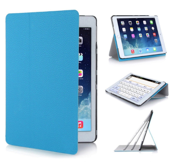 Slim Magnetic Smart PU Leather Stand Cover Case for Apple iPad