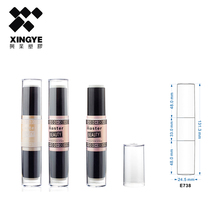 2017 new design directly sell empty plastic foundation packaging tube