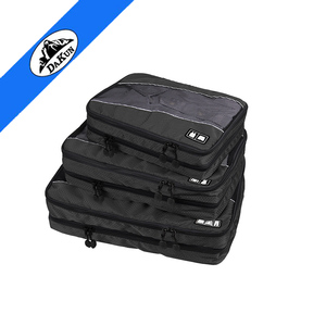 Travel Luggage Packing Organizers Two Layer Packing Cube 3pcs Set
