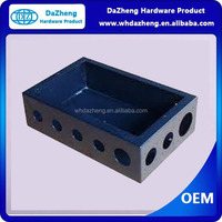 OEM sheet metal knock out box with galvanized carbon steel