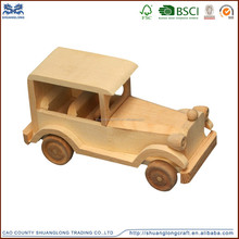 Preschool Toys Car Boat Rocket Airplane Dolls Animal Model Wooden Toys