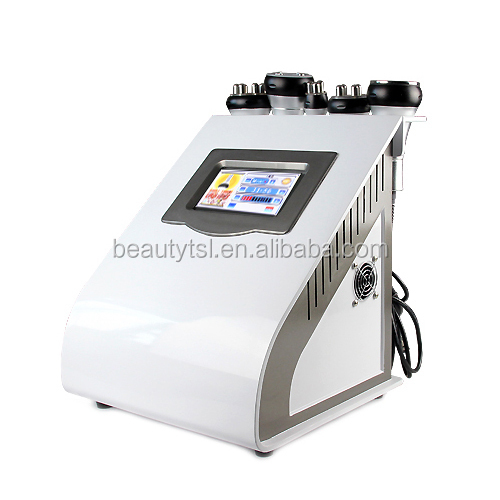 LINGMEI manufacturer 5 in 1 rf vcuum machine cavitation system red light therapy