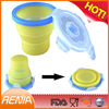 RENJIA collapsible bowls with lids,bowl with silicone lid,silicone bowl microwave