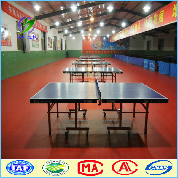 Made in china 8mm table tennis court pvc vinyl flooring covering