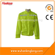 2016 New arrival cheap fluorescent yellow protective jacket