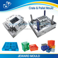 Bottle mould manufacturers in china making good quality bottle crate molds with p20 steel mold material