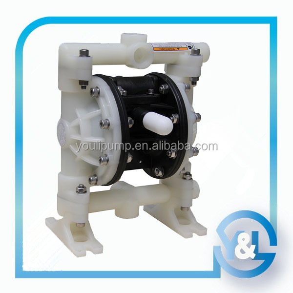 Air operated oil pump with PTFE diaphragm for manual liquid pump