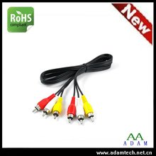 colored appliance wire sex video play electrical female male tv led lcd coaxial rca rgb cable