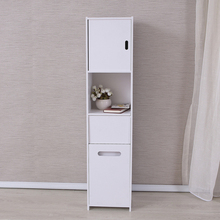 E0914 Modern toilet shelf storage shower room set home furniture bathroom wooden cabinet tissue paper box kitchen cabinet