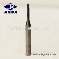 carbide long neck short flute ball nose end mill(JR136)