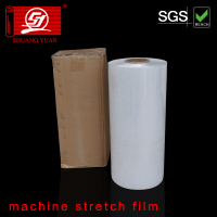 dustproof smooth strecth film,Stretch wrap lldpe film jumbo roll pe film