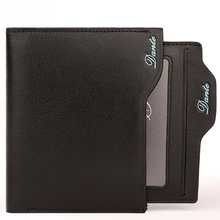Dante Men's Bifold Genuine Leather Small Travel Wallet with Removable Slot for Instant Use