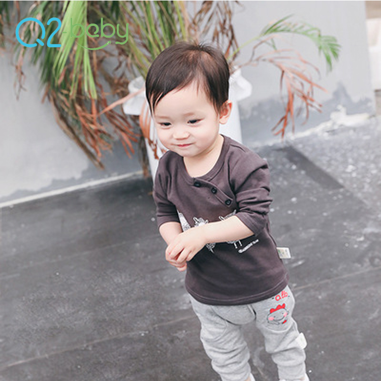 Q2-baby Wholesale Custom Printing Colorful Blank Baby Boy T Shirts