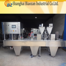Functional Commercial Espresso Coffee Capsule Filling and Sealing Machine