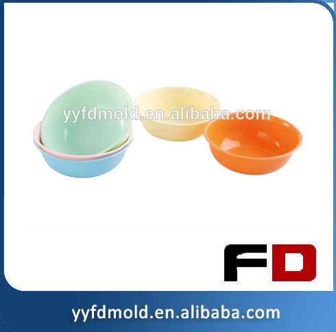 Injection plastic baby Bowl mold plastic injection molding factory