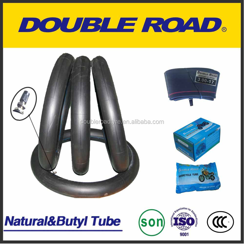 High Quality Butyl Rubber 3.00-18 Motorcycle inner Tube with Wholesale China Factory
