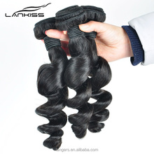 Best Selling Factory Price Cheap Unprocessed Beach Curl Virgin Hair Weave Human