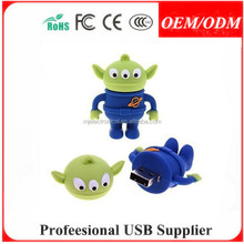 Custom USB pen stick Lovely mouse usb flash disk PVC mouse usbs disk , Free sample