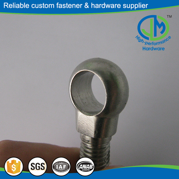 High strength fix eye bolt