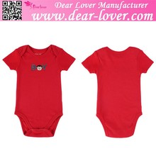 hot selling Little Monkey Red Romper baby fashion clothes summer