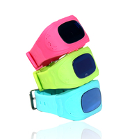 Special Design Kids GPS GSM Wristban dwatch silicone Watch Q50 With MTK wifi feature phone rate