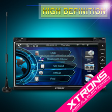 "2016 XTRONS new model TD699DAB 6.95"" double din touch screen dab radio gps"