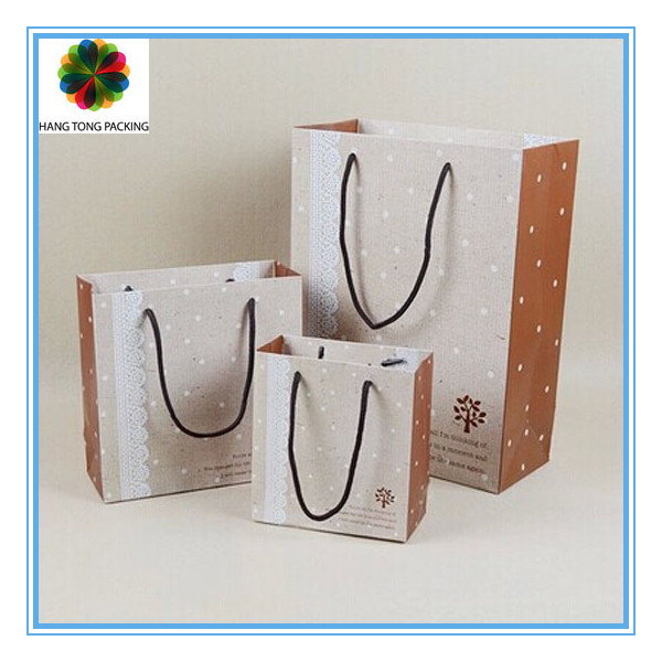 Professional manufacturer fancy wedding gift paper bag