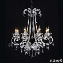 Supplier wholesale beautiful beaded crystal chandelier for hall light fixtures