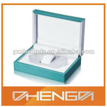 High quality customized made-in-china Customized Leather Wooden Watch Box (ZDW13-093)