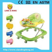Fashion cheap Baby musical walker wholesale New model baby walkers with music and light