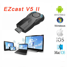 Smart tv stick V5ii Ezcast DLNA Miracast airpaly TV dongle for iphone 5 5s android smart phone better than chromecast mk808