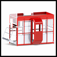 Health Medical Portable Construction Elevator Customized