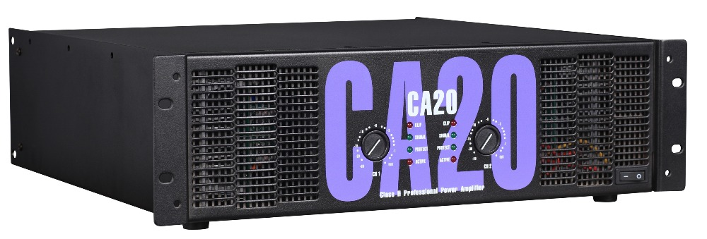 Professional audio products 1300w x 2 in 8ohm CA 20 power amplifier CA20
