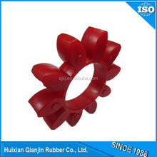 polyurethane rubber spider coupling cushion pad