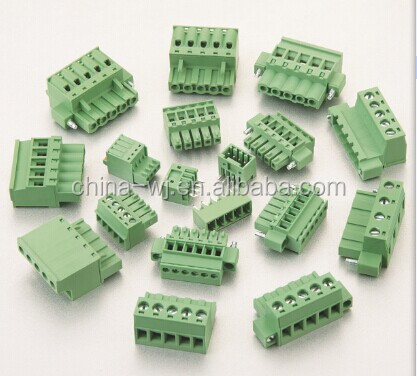 RoHS UL VDE Approved Electric Pluggable PCB Terminal Block Connector