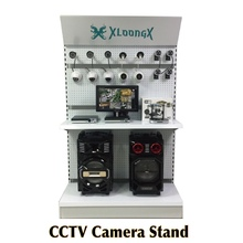 CCTV Security Systems camera display stand metal shelves rack best for demo showroom store Exhibition CCTV Camera stand
