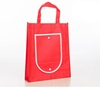 Can be folded into a wallet style personalized non-woven shopping bags