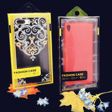 PVC Blister packing box for mobile phone case, 4.7 inches for iphone case packaging retail