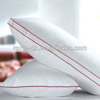 Import quilted feather down pillows