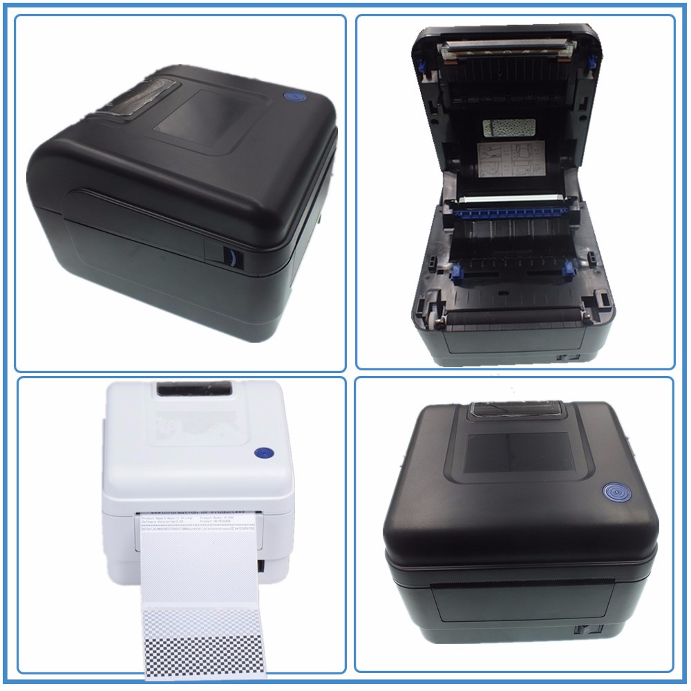 110mm Portable Thermal Barcode Printer for label printing JP