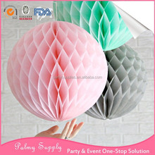 New Design Vintage Paper Honeycomb Flowers Wedding Decoration for sale