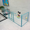 6 panel portable mobile metal pet fence dog exercise play pen