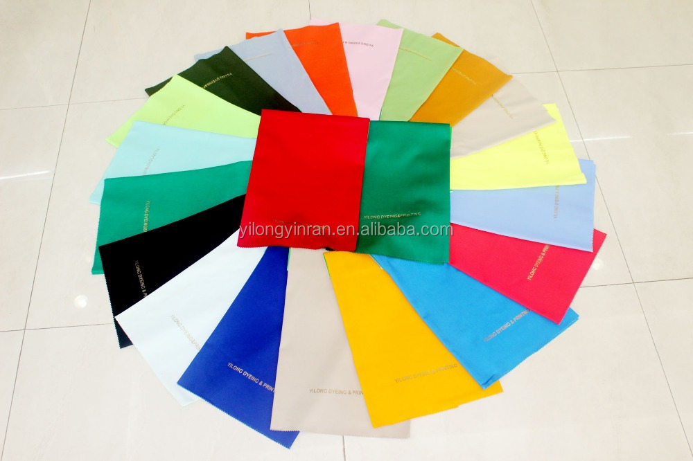 T65/C35 Polyester/Cotton poplin shirting fabric with any customized color