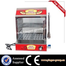 electric hot dog steamer bun warmer machine with CE and Rohs Apporved