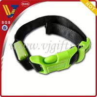 2014 Hot sales light up dog collar and leash