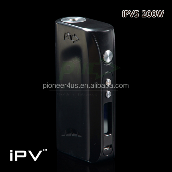 vape ipv5 Pure Tank X2 led screen electronic cigarette 2016 most worth having e cig mod vape box mod
