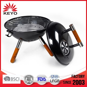 classical quality assured tripod thai terracotta barbecue grill
