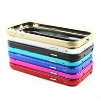 Ultra Thin Aluminum Mobile Phone Case Bumper For Samsung S4 With Metal Frame